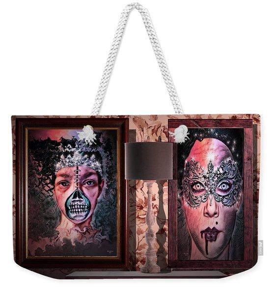 Scary Museum Wallart Weekender Tote Bag