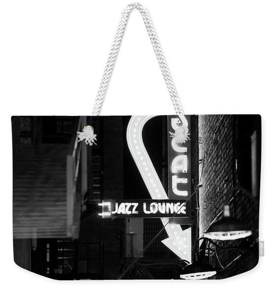 Scat Jazz Bw 11217 Weekender Tote Bag