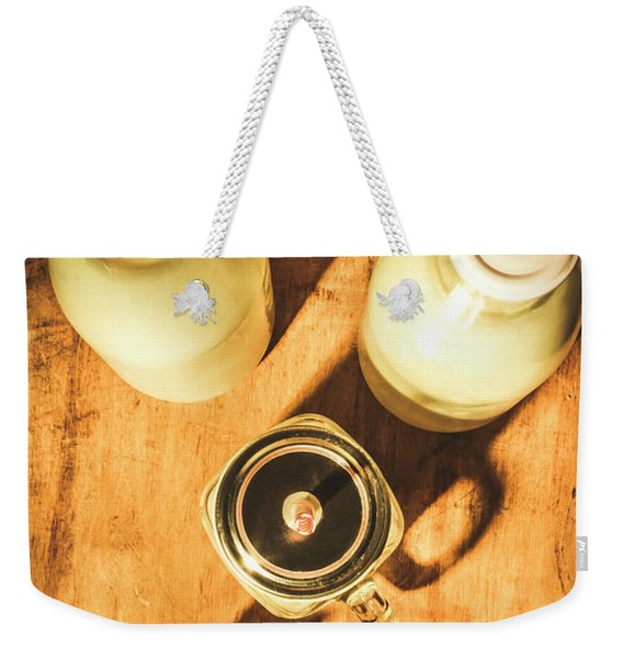 Scene From A Farm Kitchen Weekender Tote Bag