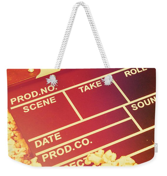 Scene From An American Movie Weekender Tote Bag