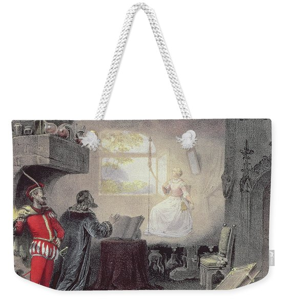 Scene From Faust By Gounod Weekender Tote Bag