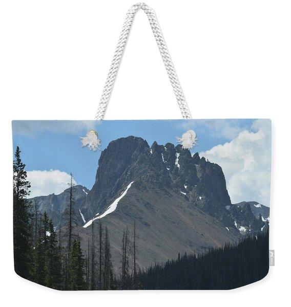 Mountain Scenery Hwy 14 Co Weekender Tote Bag