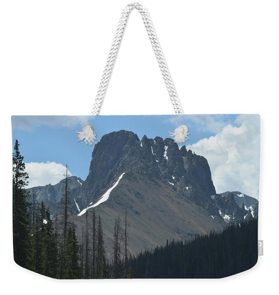 Weekender Tote Bag featuring the photograph Mountain Scenery Hwy 14 Co by Margarethe Binkley