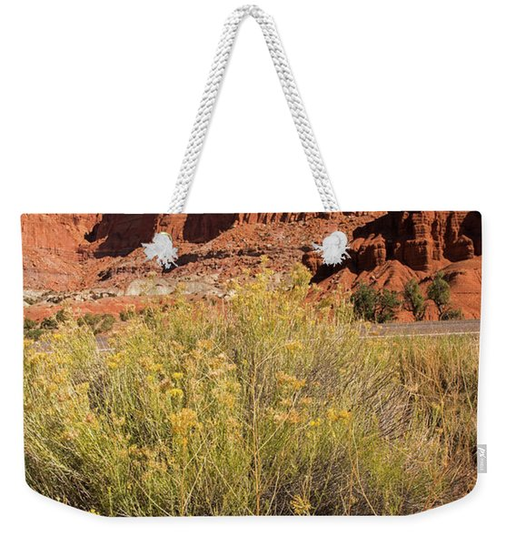 Scenery Capital Reef National Park Weekender Tote Bag