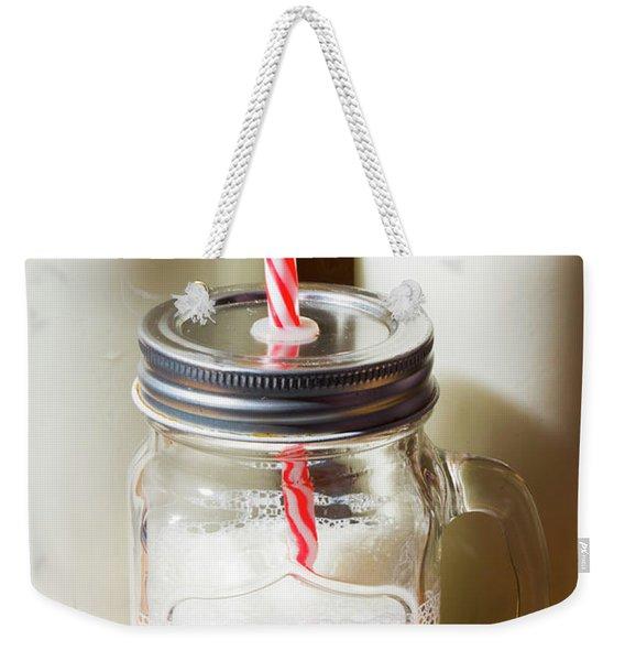 Scenes From The Age Old Milkbar Weekender Tote Bag
