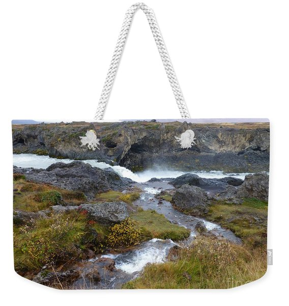 Scenic Intersection Weekender Tote Bag