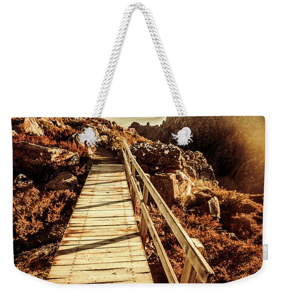 Scenic Summit Boardwalk Weekender Tote Bag