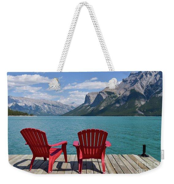 Scenic View Weekender Tote Bag