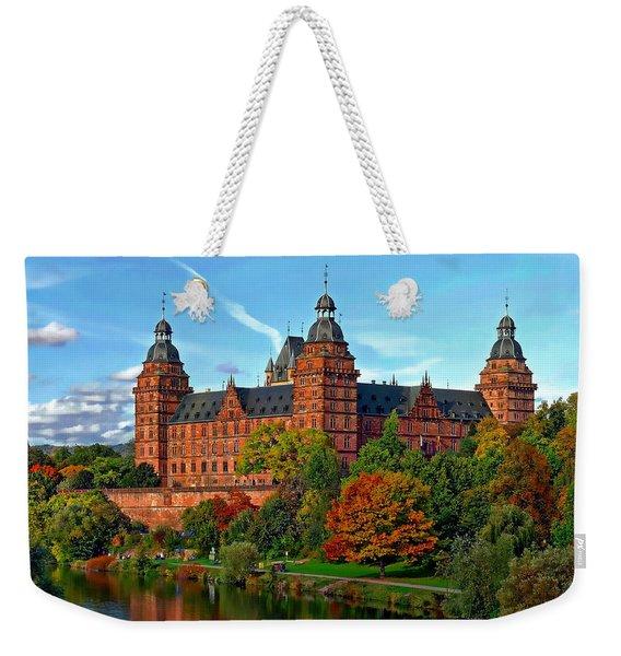 Schloss Johannisburg Weekender Tote Bag