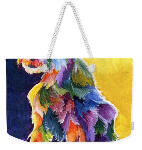 Schnauzer 3 Weekender Tote Bag