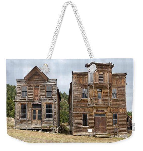 School And Dance Hall Weekender Tote Bag