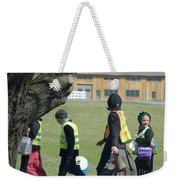 School's Out- Four Weekender Tote Bag