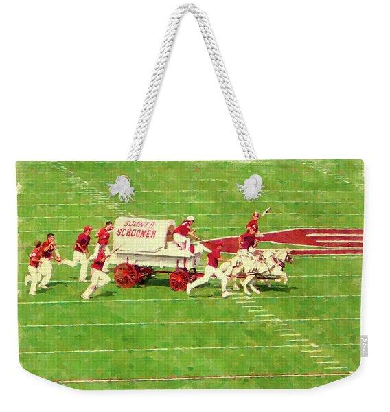 Schooner Celebration Weekender Tote Bag