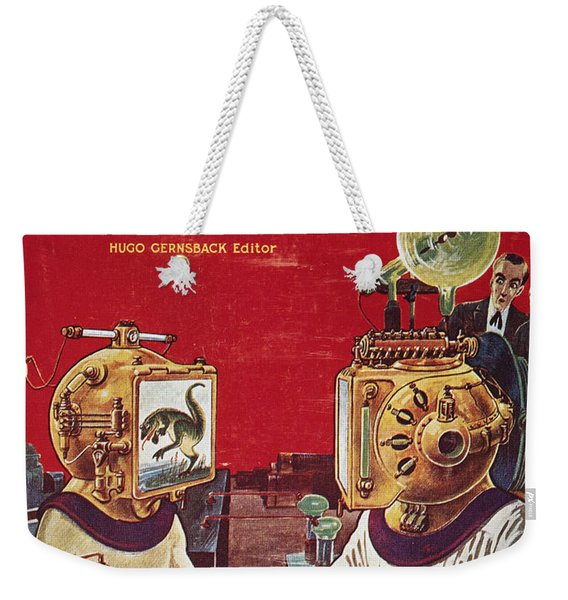 Science Fiction Cover, 1929 Weekender Tote Bag