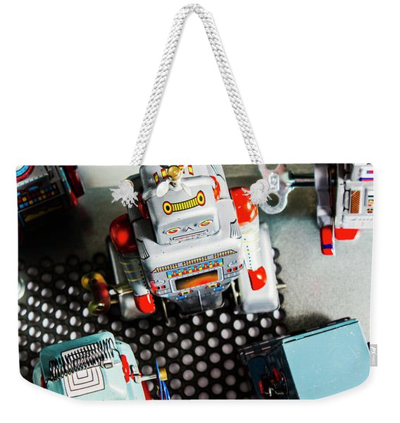 Science Of Automation Weekender Tote Bag
