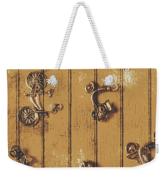 Scooter Shed  Weekender Tote Bag