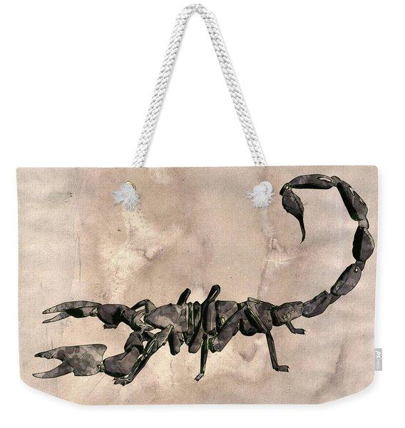 Scorpion Pop Art By Mary Bassett Weekender Tote Bag