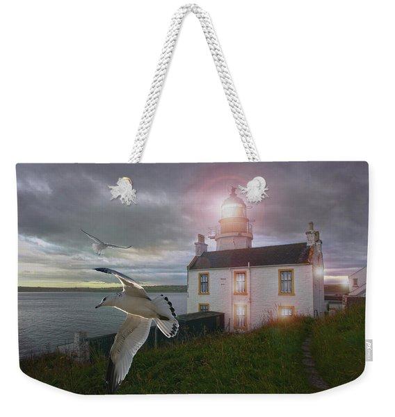 Scottish Beacon Weekender Tote Bag