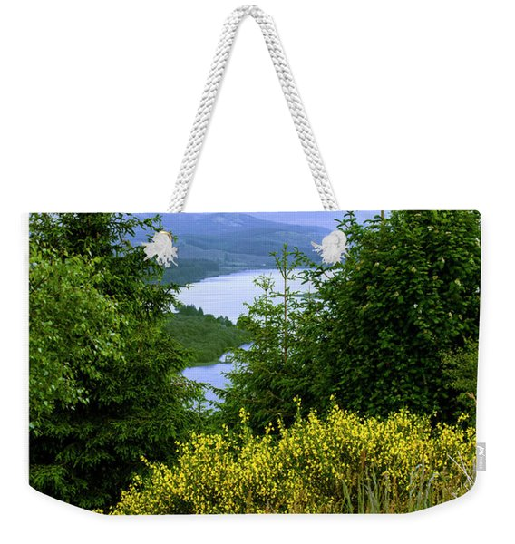 Scottish Highlands Weekender Tote Bag