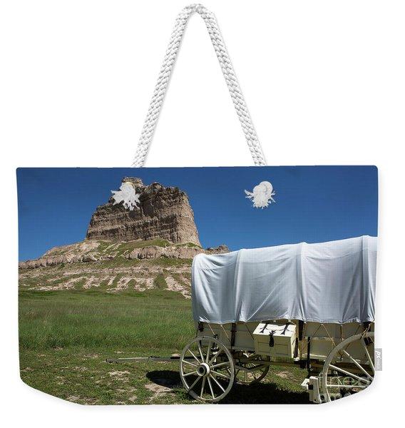 Scotts Bluff National Monument Nebraska Weekender Tote Bag