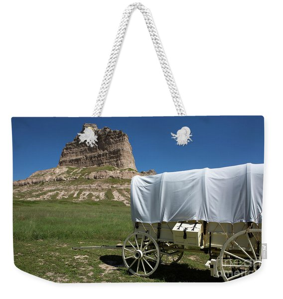 Scotts Bluff National Monument Nebraska Weekender Tote Bag