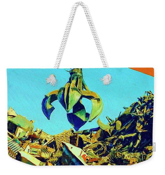 Scrap Weekender Tote Bag