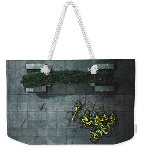 Scrap Metal Weekender Tote Bag