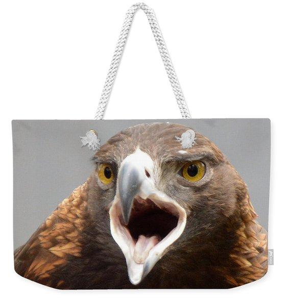 Screaming Eagle Weekender Tote Bag