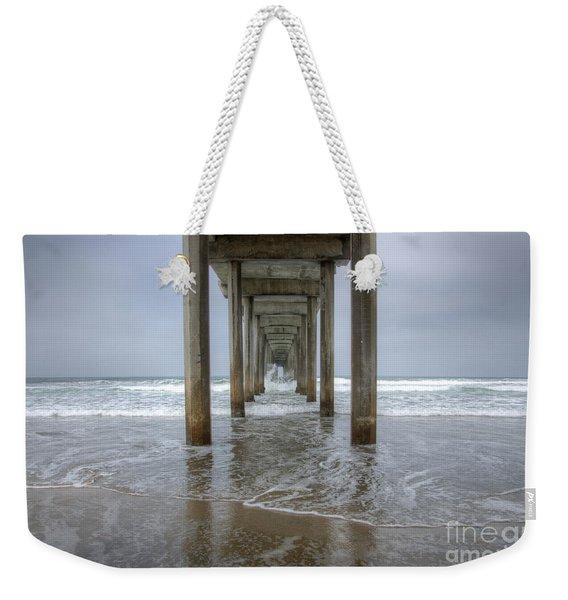 Scripps Pier La Jolla California 4 Weekender Tote Bag