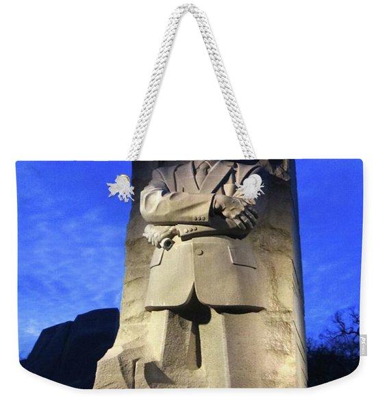 Sculptured Profile Martin Luther King Jr. Weekender Tote Bag