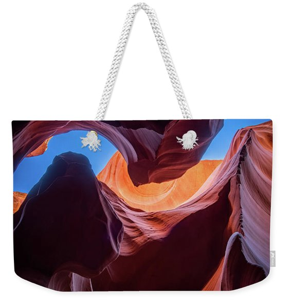 Sculptures Of Desert Weekender Tote Bag