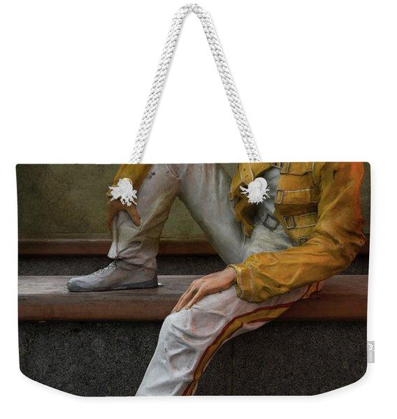 Sculptures Of Sankt Petersburg - Freddie Mercury Weekender Tote Bag