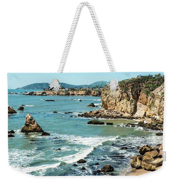 Sea And Cliffs Weekender Tote Bag