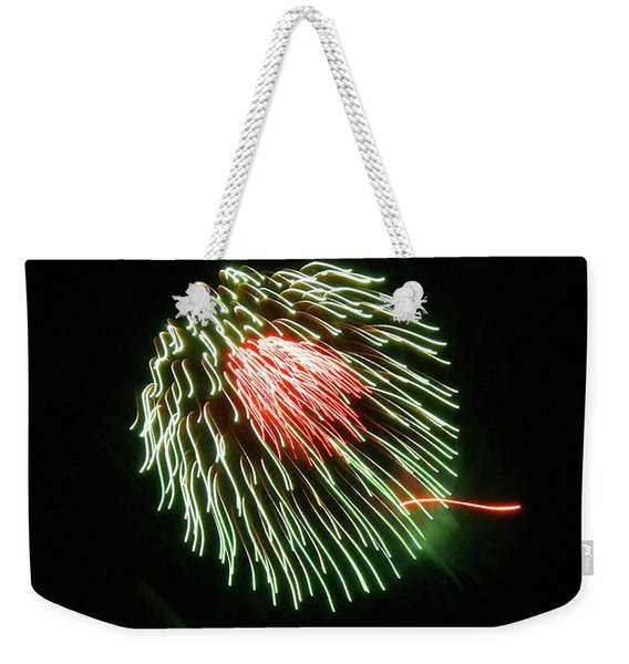 Weekender Tote Bag featuring the photograph Sea Anemone by Sally Sperry