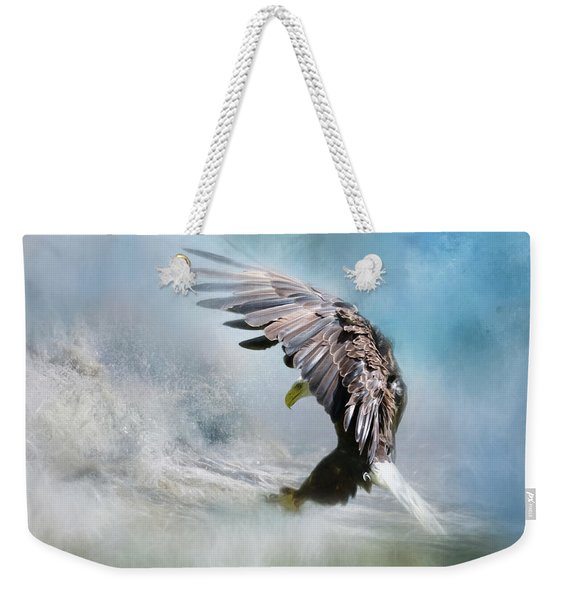 Sea Capture Weekender Tote Bag
