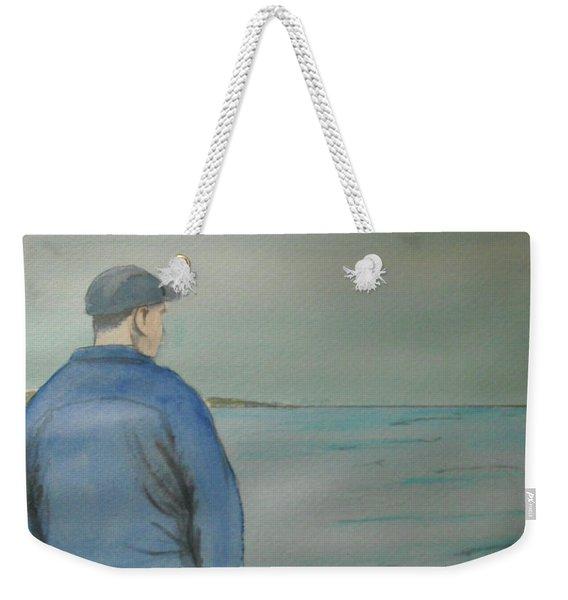 Sea Gaze Weekender Tote Bag