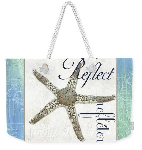 Sea Glass 3 Weekender Tote Bag