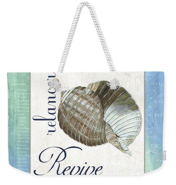 Sea Glass 4 Weekender Tote Bag