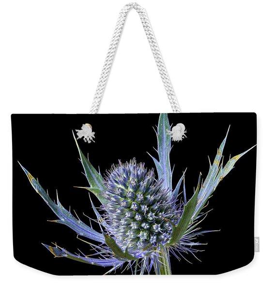Sea Holly Eryngium Weekender Tote Bag
