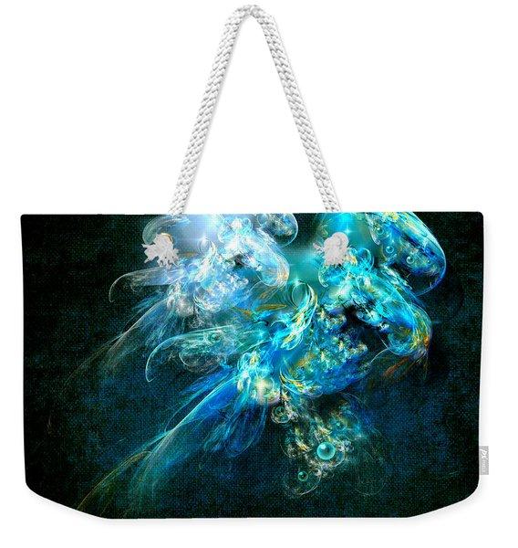 Sea Jellyfish Weekender Tote Bag