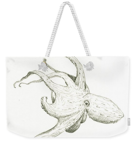 Sea Monsters, Kraken And Moby Dick Weekender Tote Bag