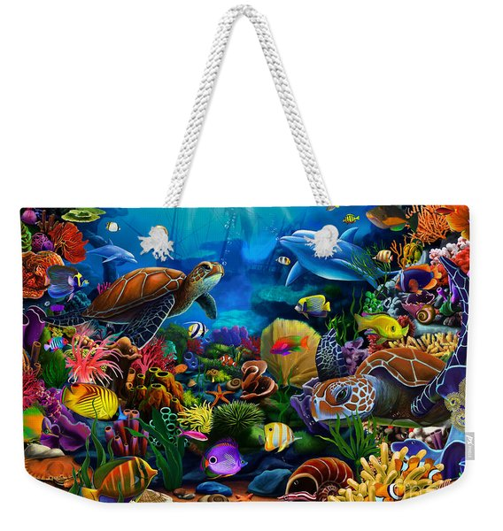 Sea Of Beauty Weekender Tote Bag