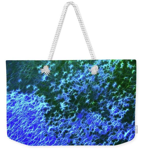 Sea Of Blue Weekender Tote Bag