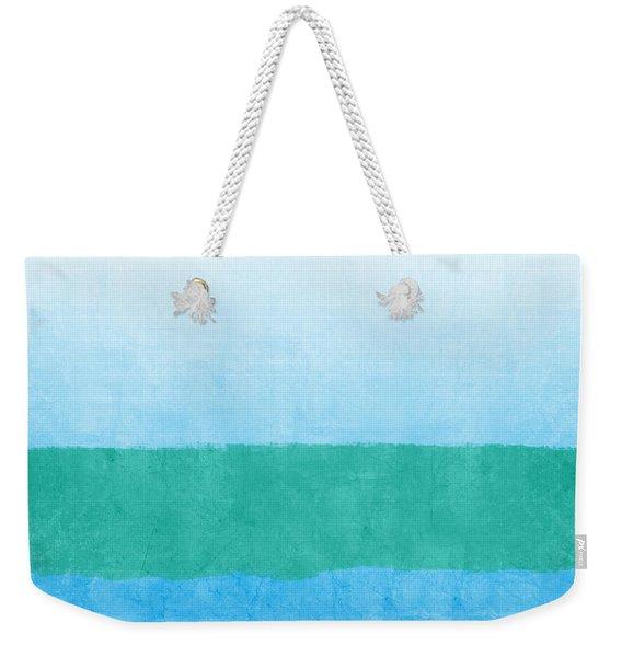 Sea Of Blues Weekender Tote Bag