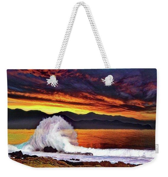 Sea Of Cortez Sunset Weekender Tote Bag