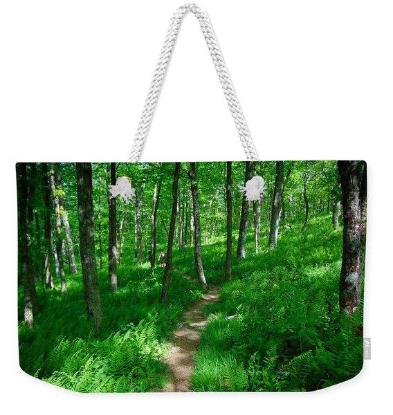 Sea Of Ferns Weekender Tote Bag