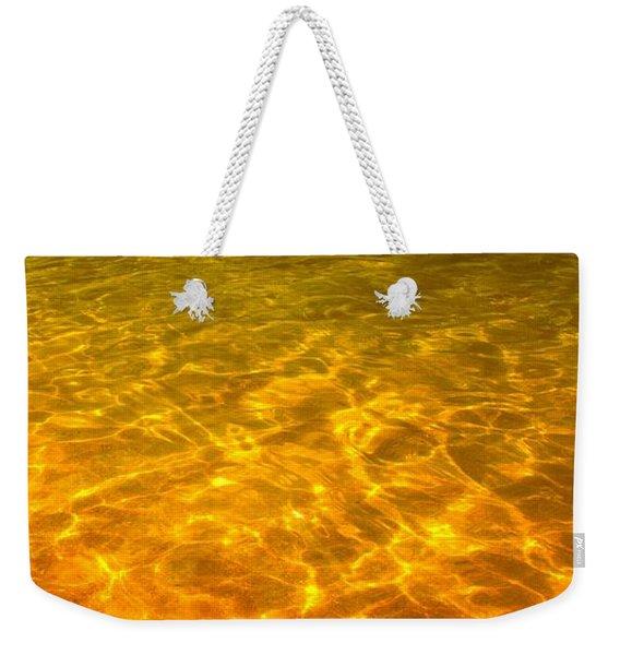 Sea Of Gold Weekender Tote Bag