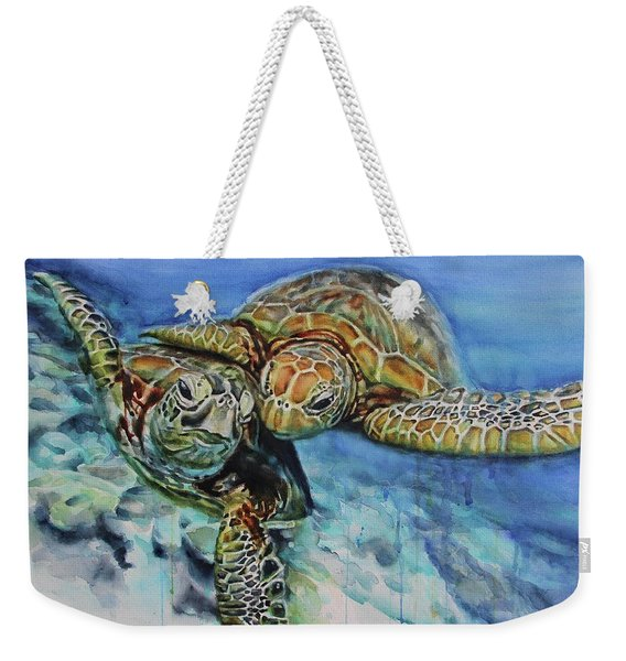 Sea Of Love Weekender Tote Bag