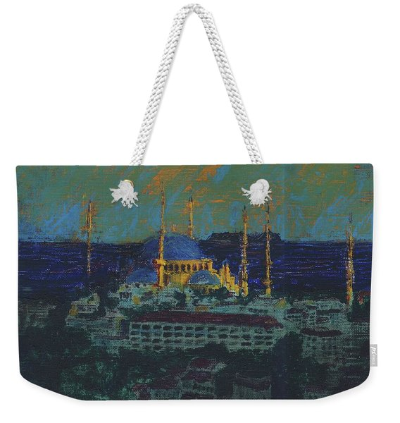 Sea Of Marmara Weekender Tote Bag