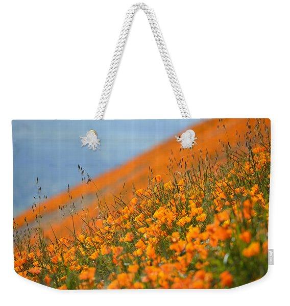 Sea Of Poppies Weekender Tote Bag